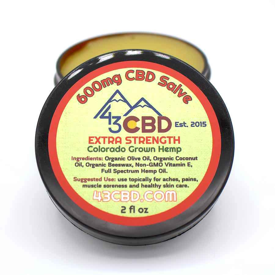 cbd hemp salve 600mg