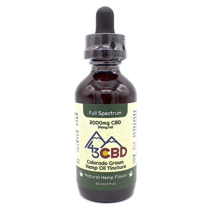 cbd oil 2000mg hemp