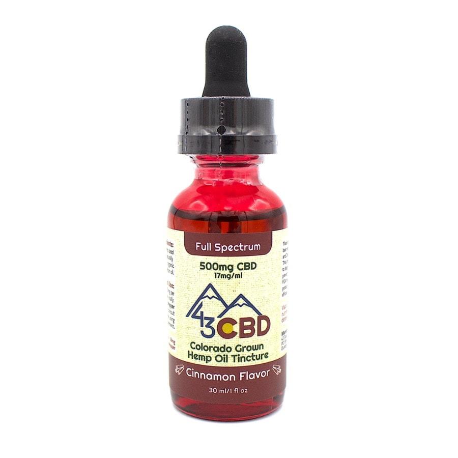 cbd hemp oil 500mg cinnamon