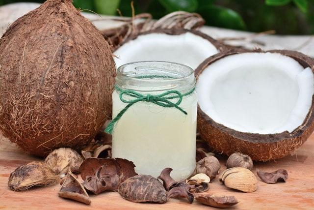 coconut oil or palm oil