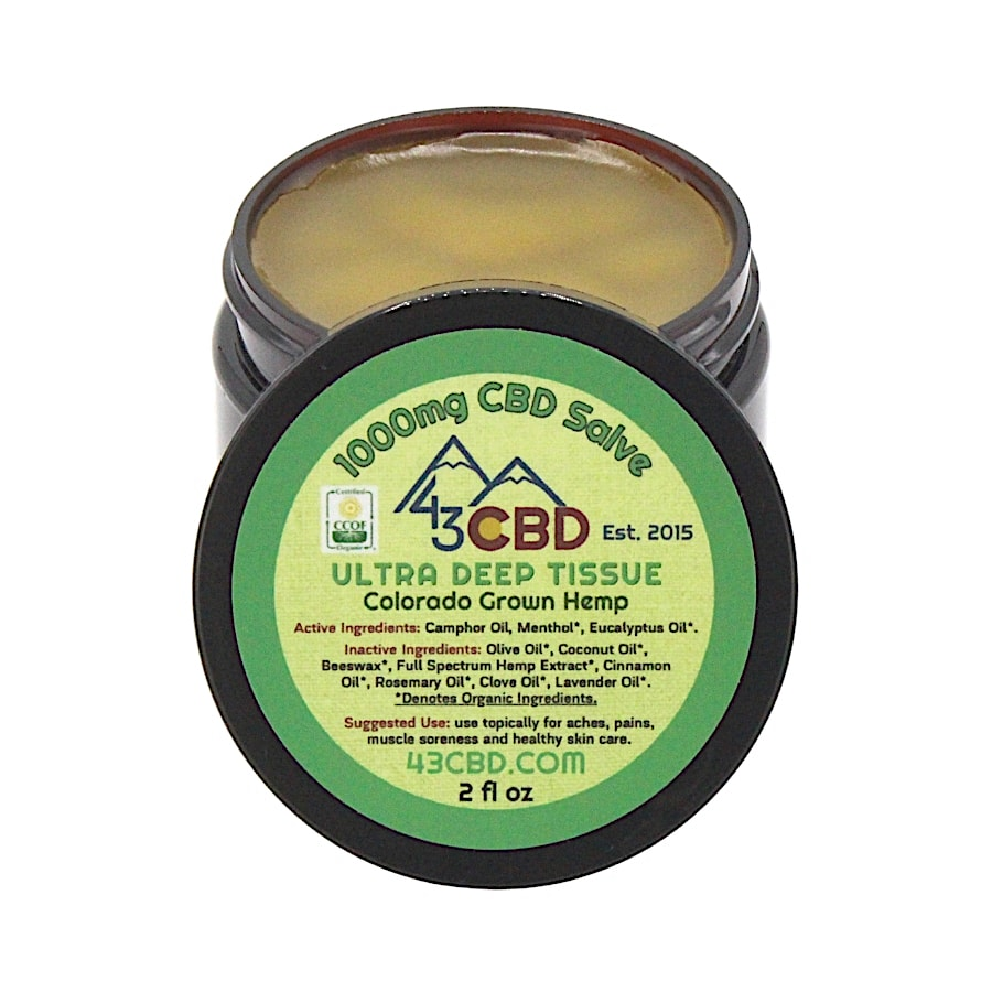 usda organic cbd salve