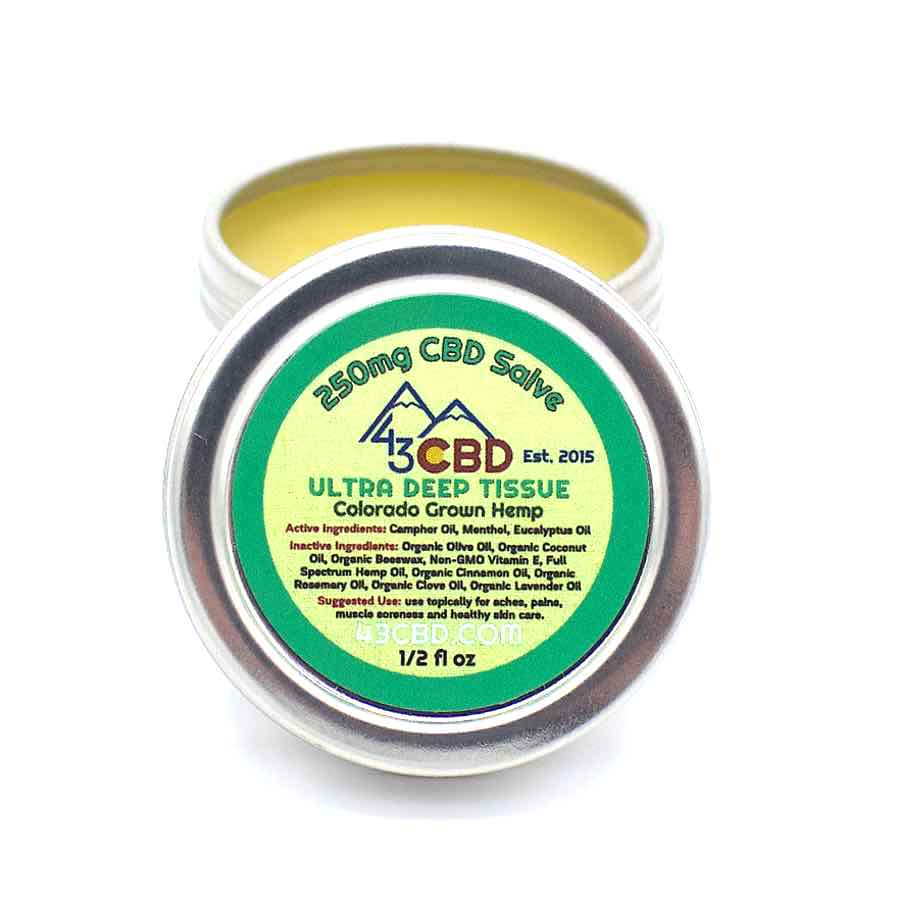 cbd hemp oil salve pocket