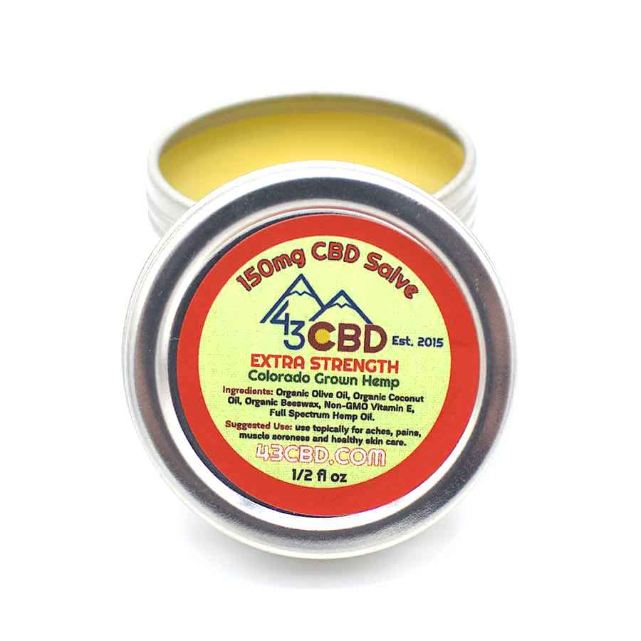 extra strength cbd salve