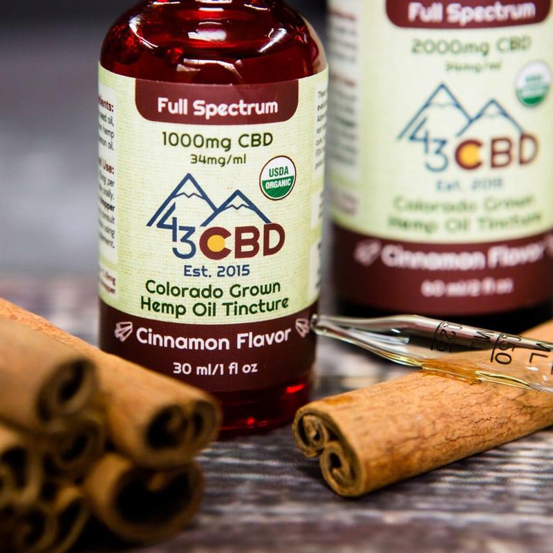 full spectrum organic oil